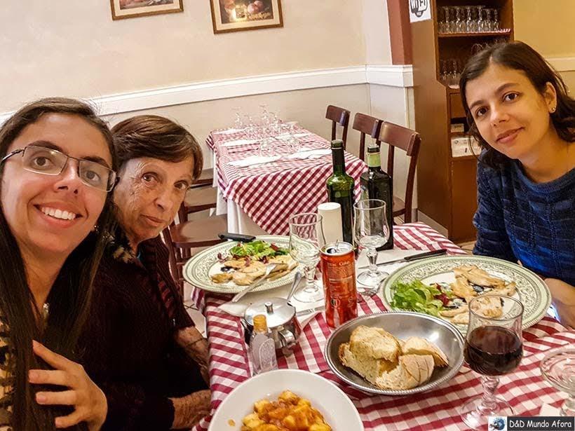 Restaurante em Roma - Diário de Bordo: 3 dias em Roma
