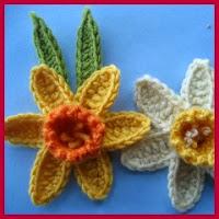 Narcisos a crochet