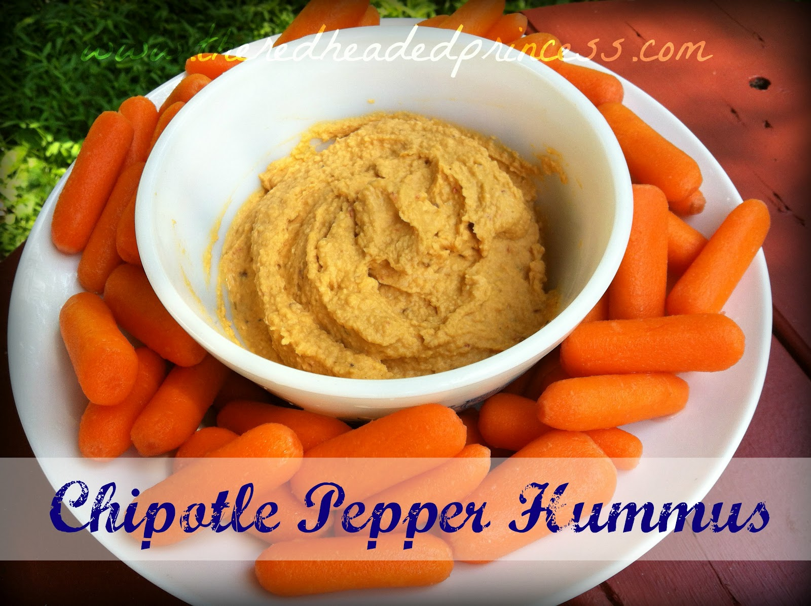 Chipotle Pepper Hummus