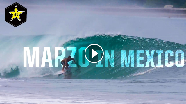 Clay Marzo - Catching Barrels In Mexico