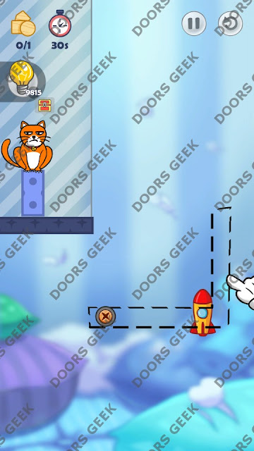 Hello Cats Level 117 Solution, Cheats, Walkthrough 3 Stars for Android and iOS