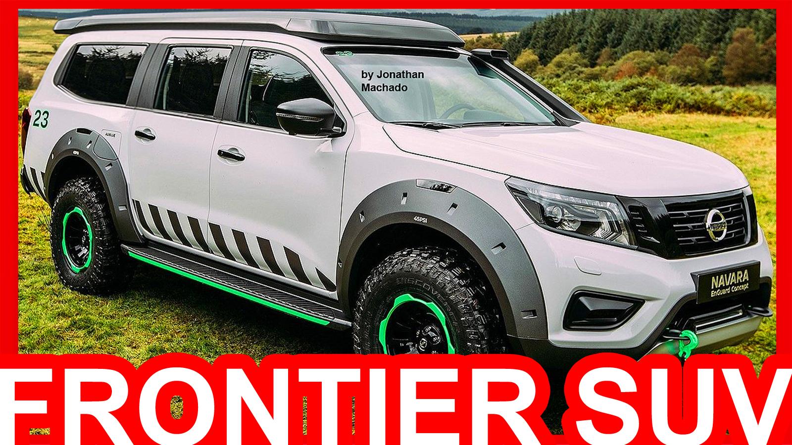 PHOTOSHOP New 2017 Nissan Frontier Navara SUV @ EnGuard ...