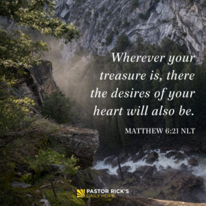 Money: God's Favorite Way to Test You by Rick Warren