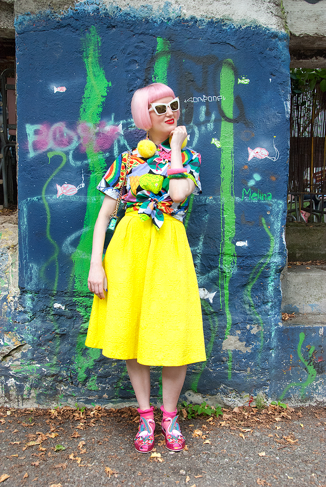 print all over me, colourful style, quirk blogger