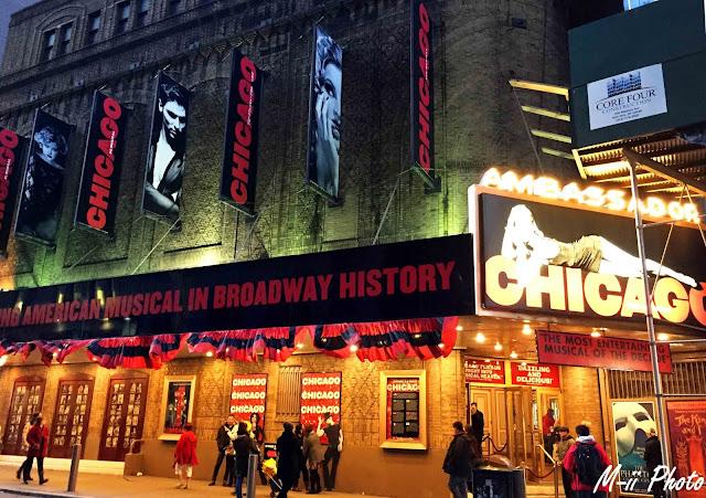 My Travel Background : Une semaine à New York : Chicago Broadway