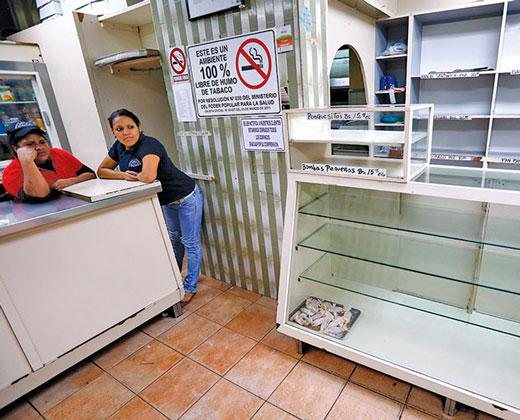 Comerciantes dicen que no pueden pagar nuevo salario sin producción