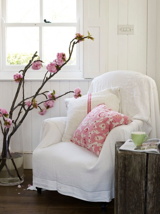 Natural modern interiors how to decorate the modern country style - Modern country chic decor ...