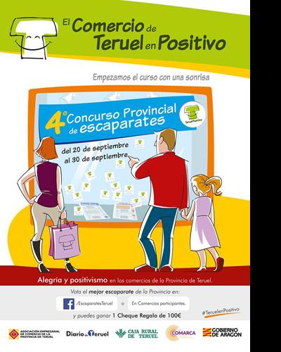 IV Concurso provincial de Escaparates #TeruelenPositivo