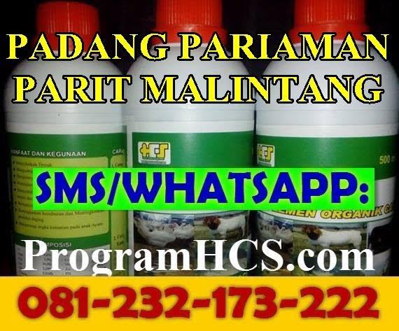 Jual SOC HCS Padang Pariaman Parit Malintang