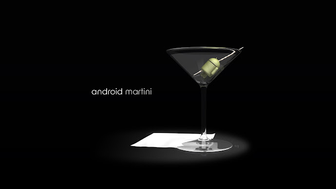 Wallpaper: Hot - Creative Art - Android Martini