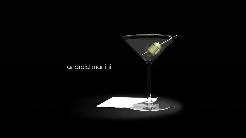 Hot Creative Art: Android Martini HD