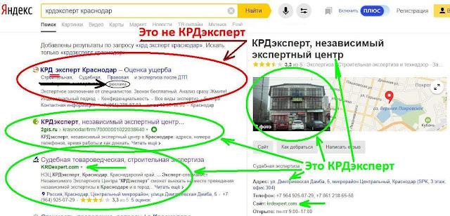 Независимый Центр КРДэксперт в Краснодаре. Официальный сайт