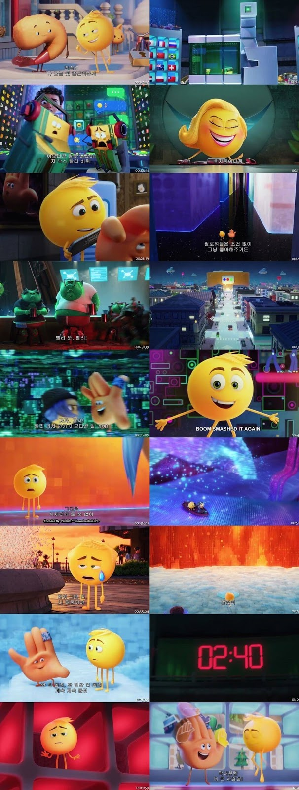 The emoji movie 2017 hdrip 720p 480p direct links for Inside unrated full movie