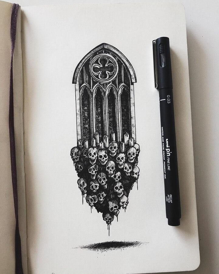 09-Skull-window-Gothic-window-Alex-Pantela-www-designstack-co