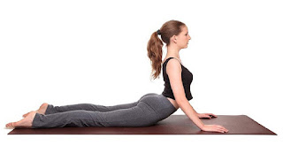 Bhujangasana is a relaxing yoga pose that helps to reduce stress and tension.