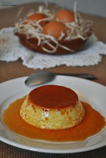 recette flan espagnol dessert sans four