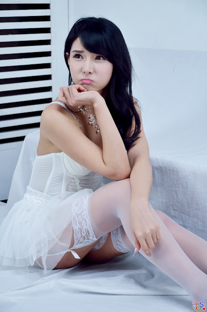 2 Cha Sun Hwa - Sexy White -Very cute asian girl - girlcute4u.blogspot.com