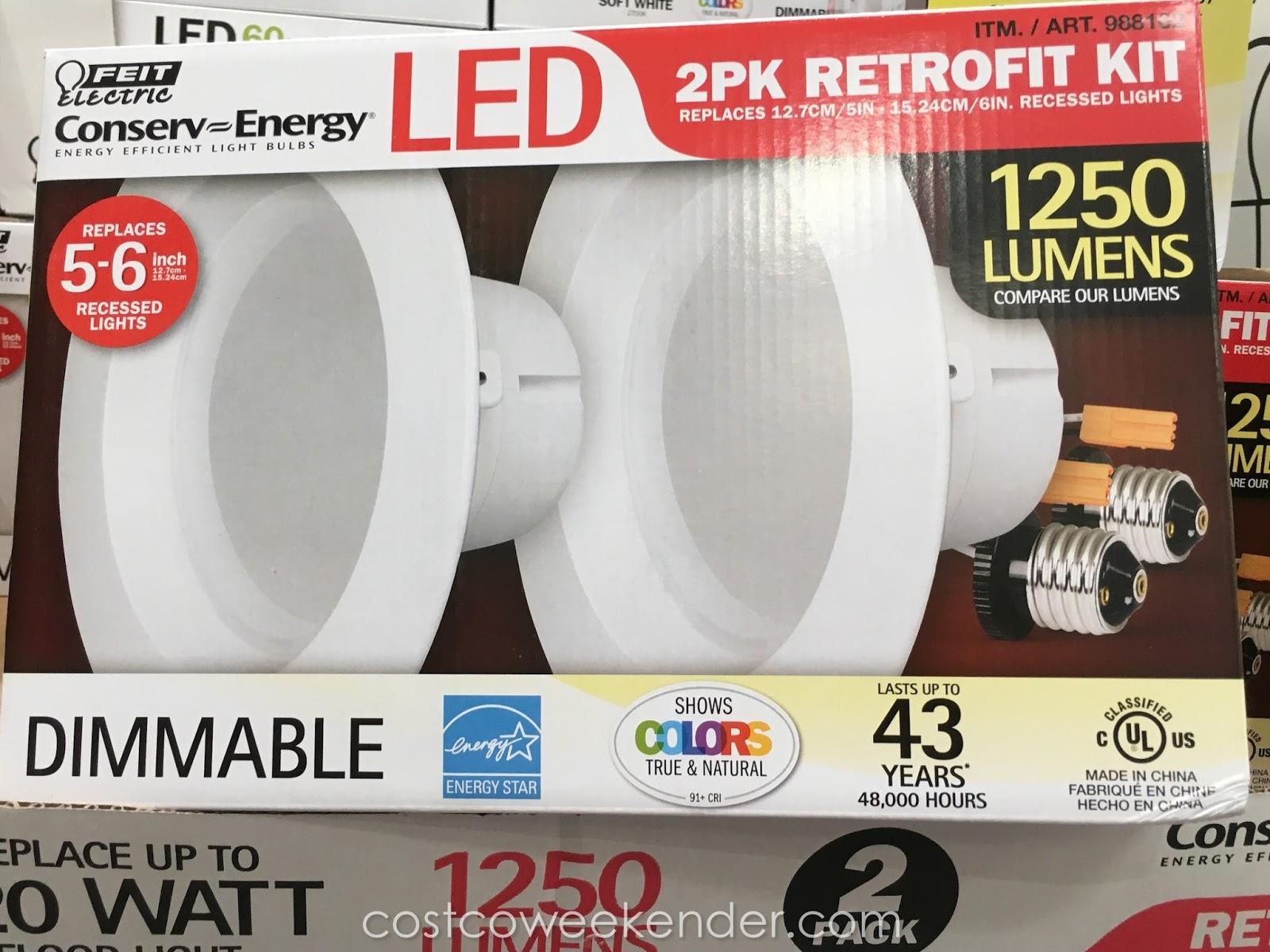 feit electric led 6 inch retrofit kit
