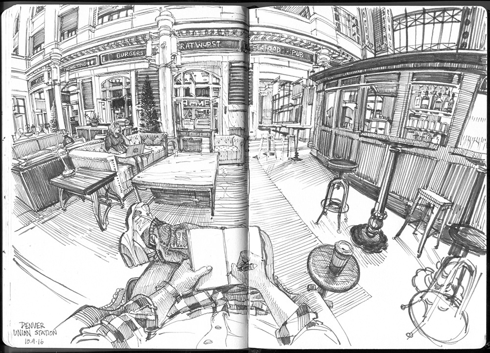 03-Union-Station-Interior-Paul-Heaston-Urban-Sketcher-in-Moleskine-Drawings-www-designstack-co