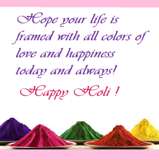 Happy Holi Quotes and Greeting