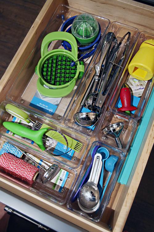 Iheart Organizing Four Days Drawers Mini Challenge Diy Kitchen Utensil Drawer Dividers