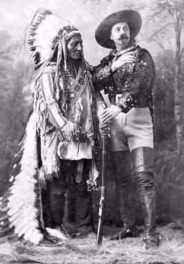 Toro Sentado y Buffalo Bill