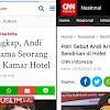 Beda Media Beda Berita, Jadi Andi Arief Diciduk Bersama Wanita atau Sendirian?