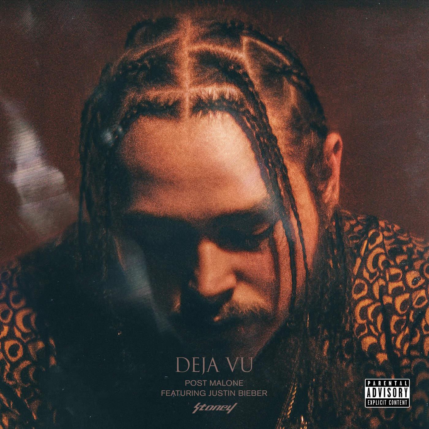 Post Malone - Deja Vu (feat. Justin Bieber) - Single Cover