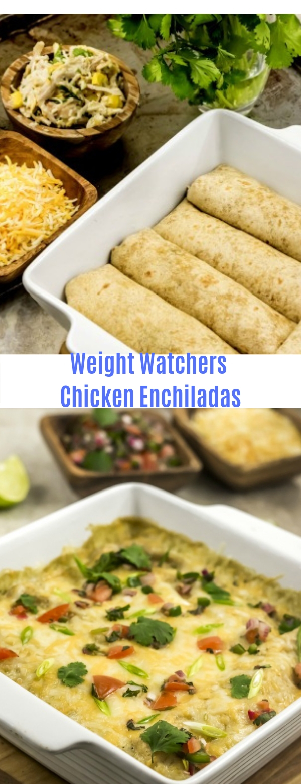 Weight Watchers Chicken Enchiladas