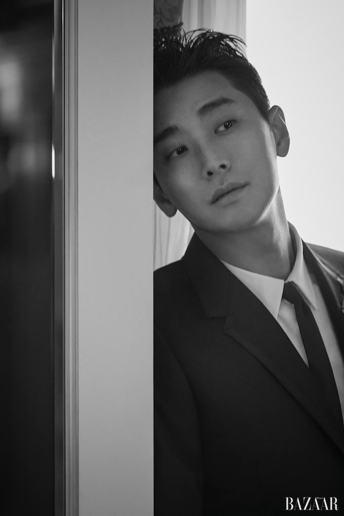 Ju Ji Hoon, Joo Ji Hoon,, Ju Ji Hoon Harper's Bazaar, Ju Ji Hoon 2018, 주지훈