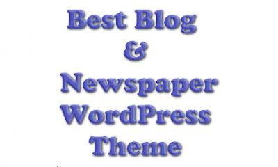 Newspaper and blog WordPress theme