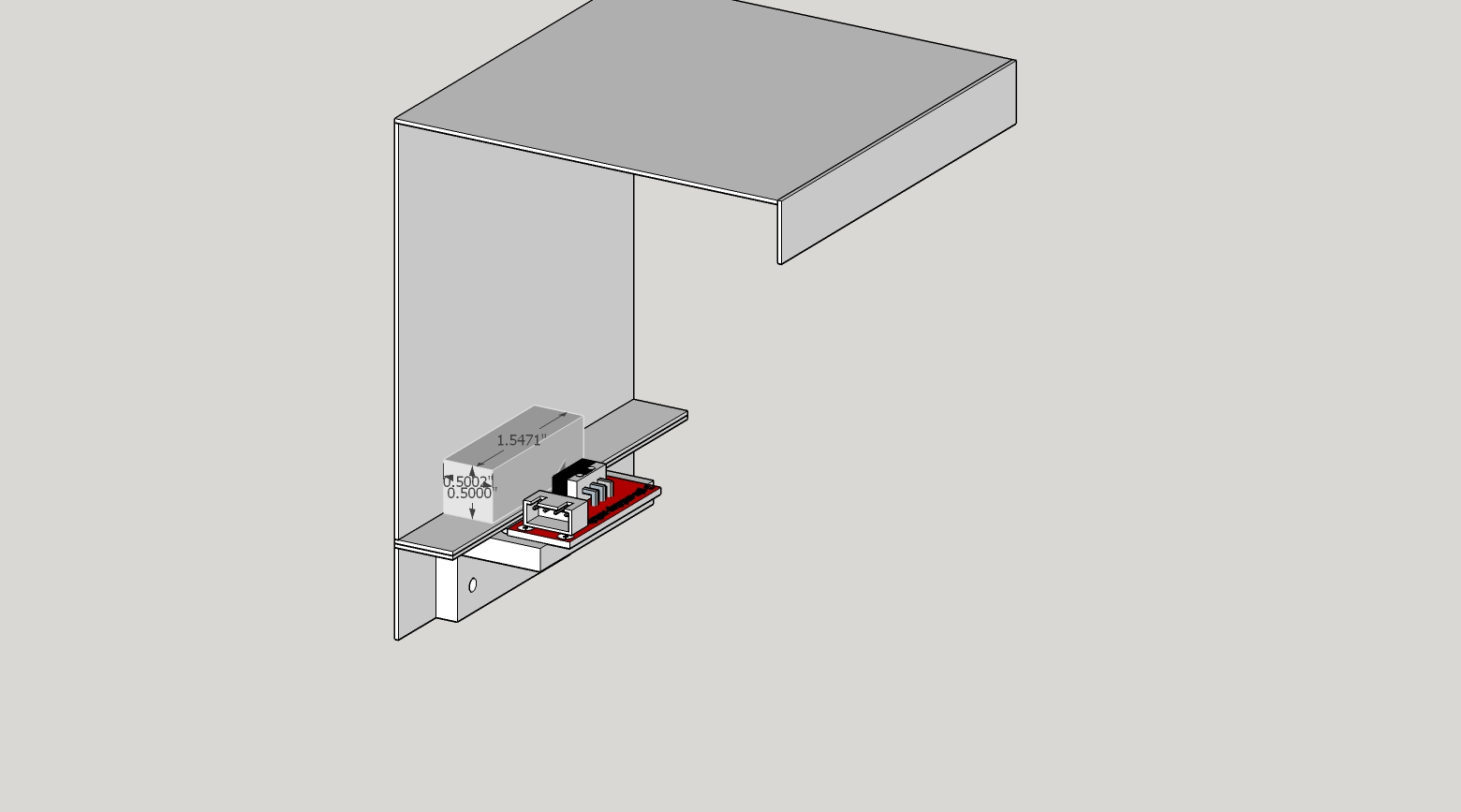 Dons Laser Cutter Things K40 S Interlocks Breakout Board Defeat Switch Loop Wiring Diagram This Arrangement Also Allows A Magnet To Be Placed On The Ledge I Dont Recommend Defeating Make Sure You Wear Eye