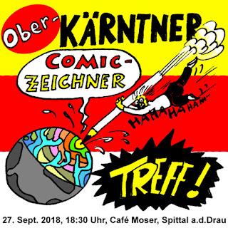 Kärntner Comiczeichner Stammtisch, Zeichnertreff