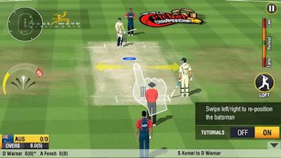 لعبة World Cricket Championship 2 مهكرة للأندرويد - تحميل مباشر