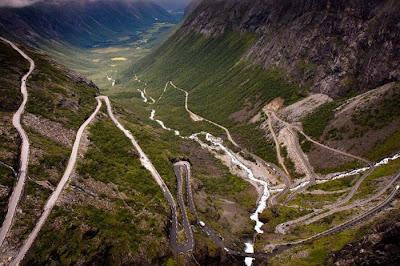 Bellos paisajes en Noruega.