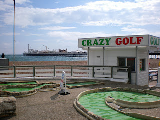Crazy Golf in Brighton