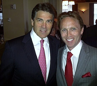 Rick Perry, Theo Caldwell