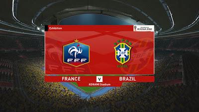 PES 2015 Scoreboard FIFA World Cup 2018 Russia