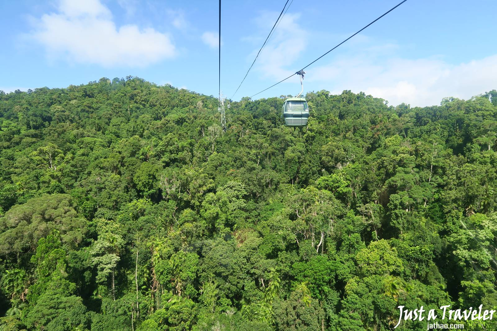 凱恩斯-庫蘭達-交通-觀光纜車-自由行-旅遊-澳洲-Cairns-Kuranda-Skyrail-Rainforest-Cableway-Travel-Tourist-Attraction-Australia