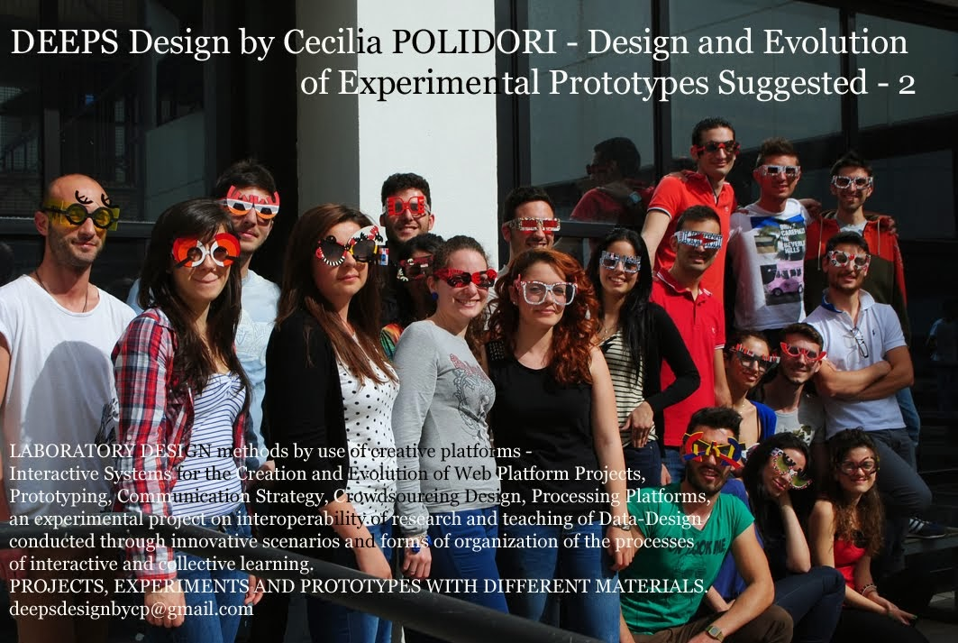 DESIGN 2013/14 n 1 prof POLIDORI - Design and Evolution of Experimental Prototypes Suggested