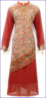 Baju Batik Kombinasi Polos Couple Aktual Post