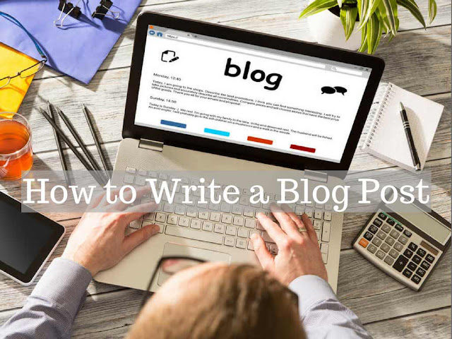 How to write a Blog Post - web4newbies.com