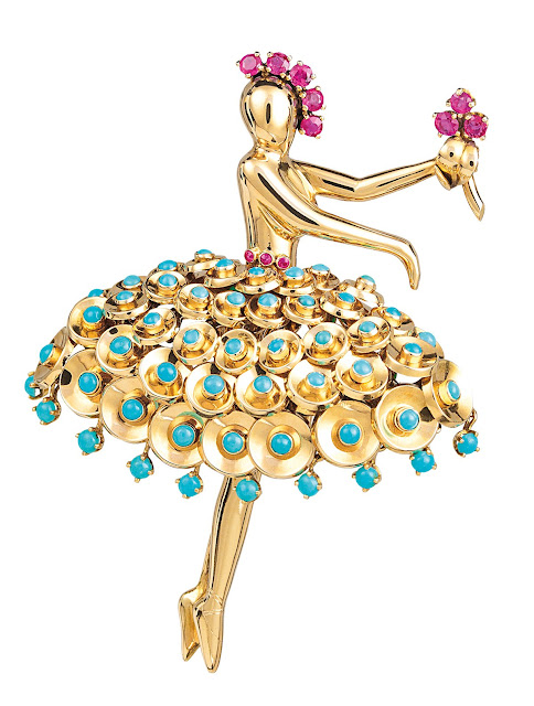 Dancer clip by Van Cleef & Arpels