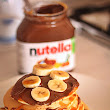 Pancake con Nutella e Bananana (pancake with Nutella)