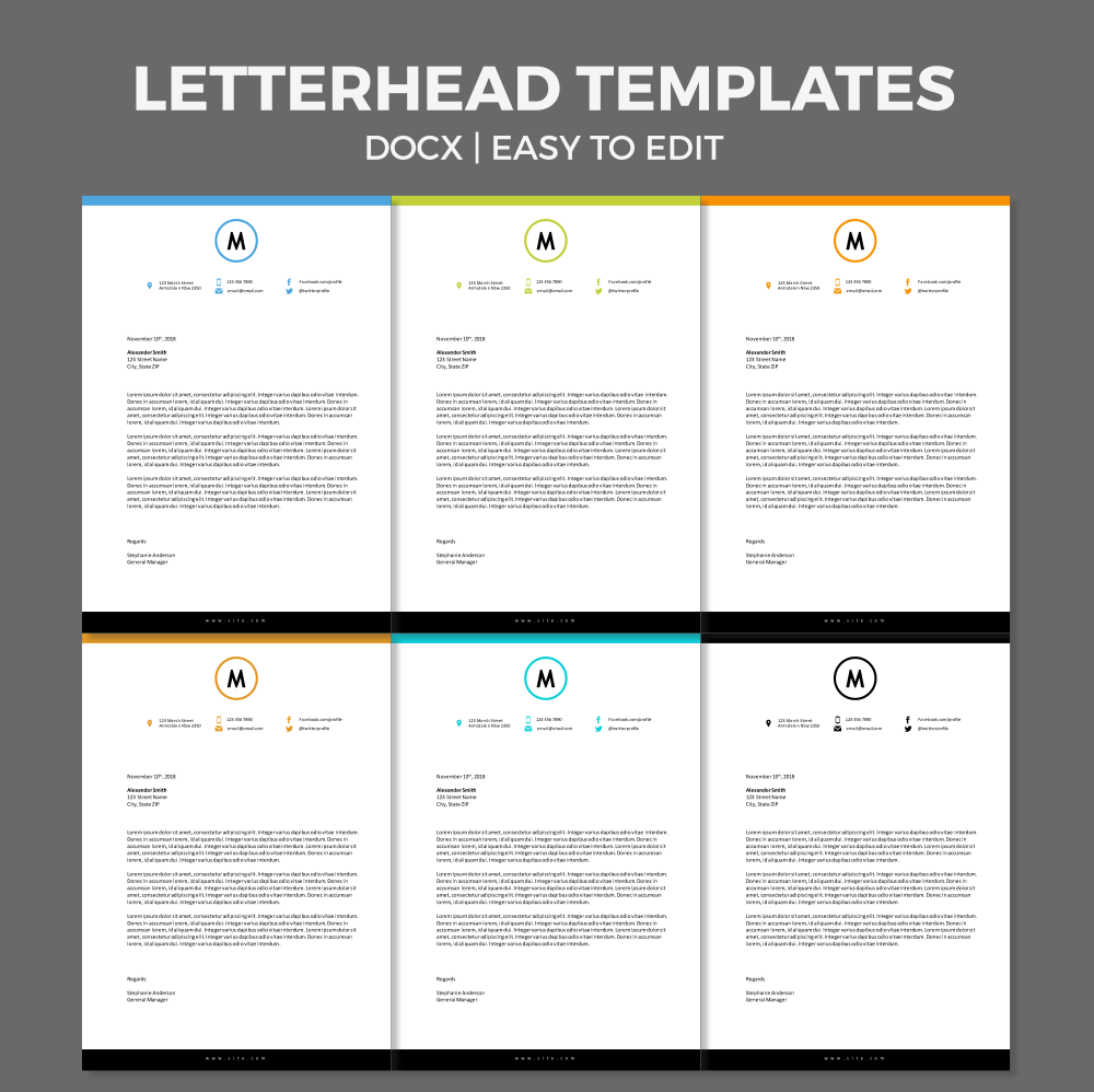25 beautiful letterhead template word ideas on pinterest