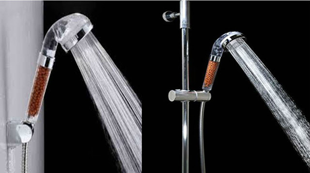 chlorine filter shower head