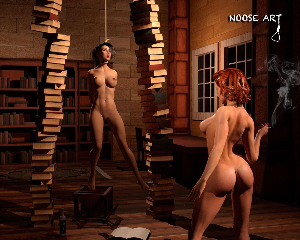 Erotic gallows girls jadore