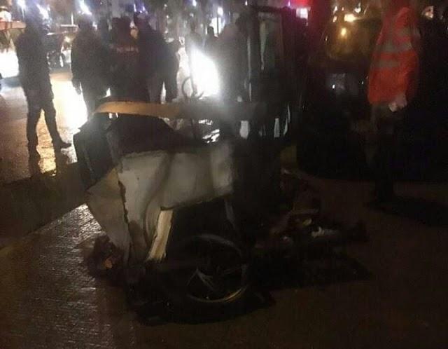 يا ربي السلامة ،، إصابات خطيرة لمول الببوش و 4 نساء و طفل بعد ان صدمتهم سيارة ببرشيد
