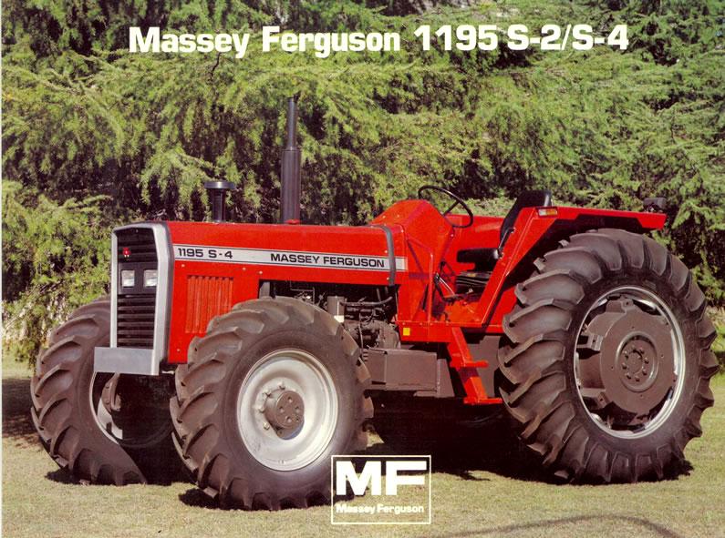 Pesados Argentinos: Massey Ferguson 1195 S-2/S-4