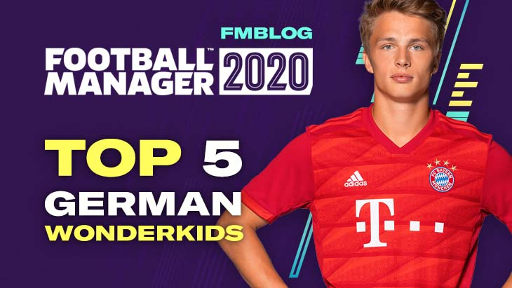 FM20 - Top 5 Wonderkids From Germany